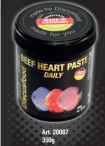 Beef hart paste daily 125gr