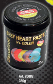 Beef hart paste V+ color 350gr (SLUT)