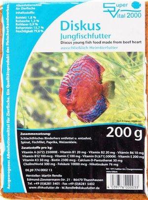 Super Vital 2000 Jungfischfutter 200gr