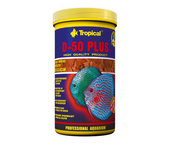 TROPICAL DISCUS D-50 PLUS FLAKES 1000ML