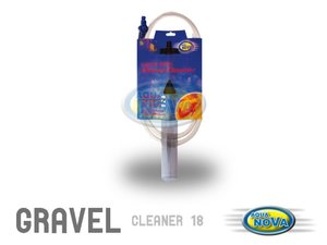 Aqua Nova gravel cleaner 45 cm medium (SLUT I LAGER)